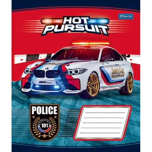 А5/12 кл. 1В Hot Pursuit -17 тетрадь ученич. 760467