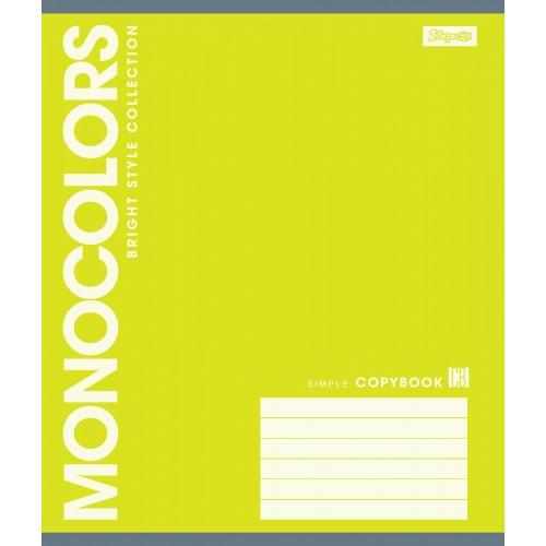 А5/18 лин. 1В MonoColors -17 тетрадь ученич. 760530