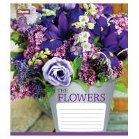 А5/12 кос. 1В Flowers bouquet - 17 тетрадь ученич.