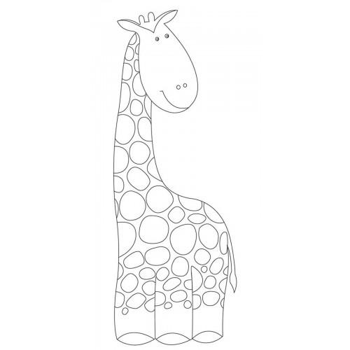 "Холст с контуром ""Жираф"" (15см*30см) 953195"