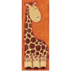 "Холст с контуром ""Жираф"" (15см*30см)"