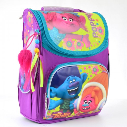 Рюкзак школьный каркасный 1 Вересня H-11 Trolls, 34*26*14 553359