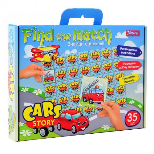 """Набор для творчества """"Find the match"""" """"Cars Story"""" 953023"""