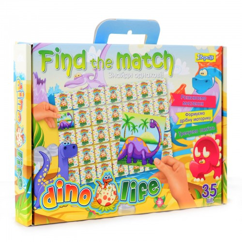 "Набор для творчества ""Find the match"" ""Dino Life"" 953025"
