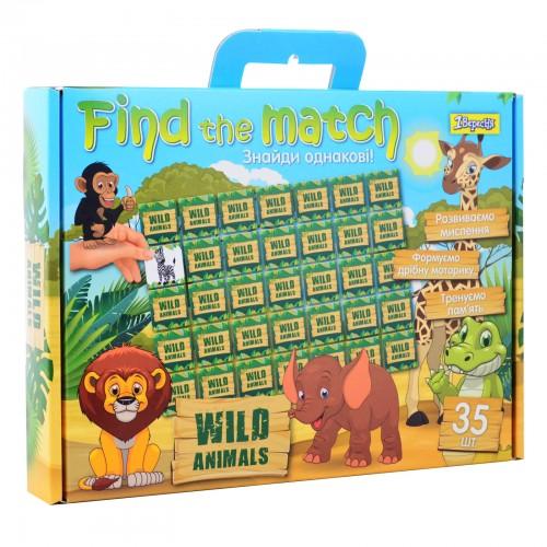 "Набор для творчества ""Find the match"" ""Wild Animals"" 953027"