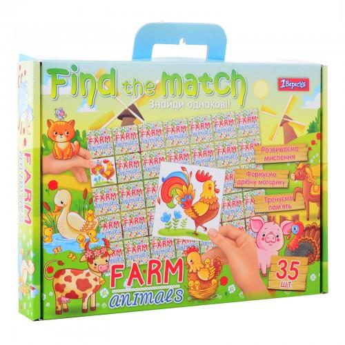 "Набор для творчества ""Find the match"" ""Farm Animals"" 953029"