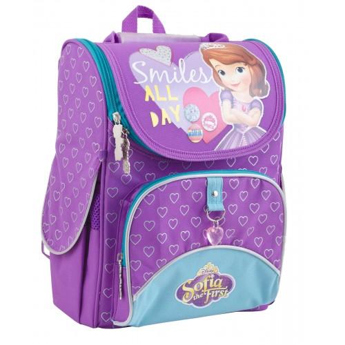 Рюкзак школьный каркасный 1 Вересня H-11 Sofia purple, 34*26*14 553269