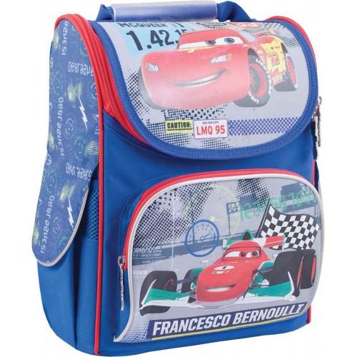 Рюкзак школьный каркасный 1 Вересня H-11 Cars, 34*26*14 553306