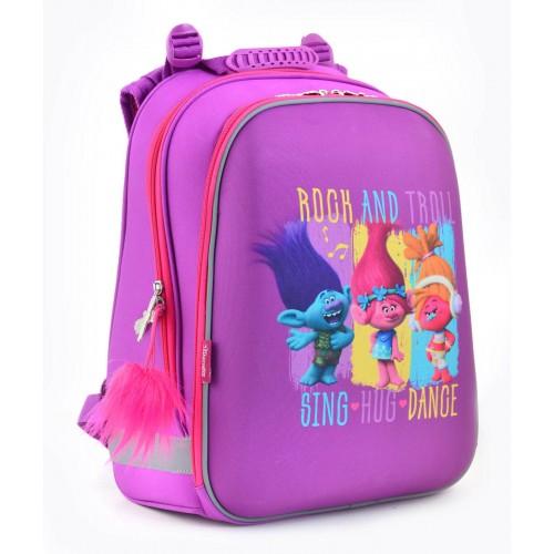 Рюкзак школьный каркасный 1 Вересня H-12 Trolls, 38*29*15 554369
