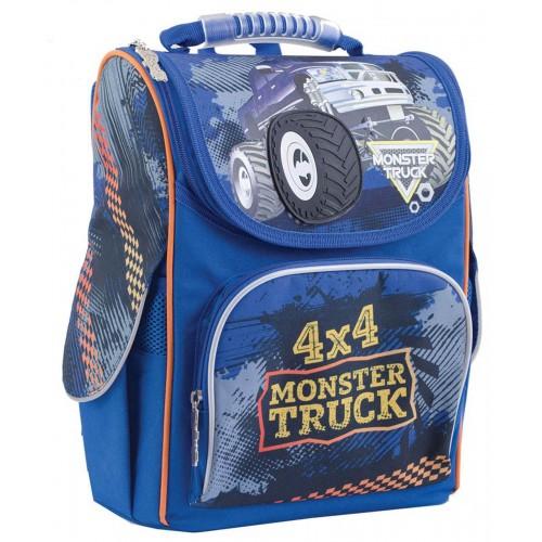 Рюкзак школьный каркасный 1 Вересня H-11 Monster Truck, 34*26*14 553296
