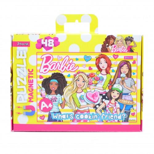 """Пазл магнитный А4 """"Barbie"""" 953560"""