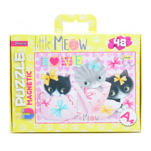 "Пазл магнитный А4 ""Little Meow"" 953562"