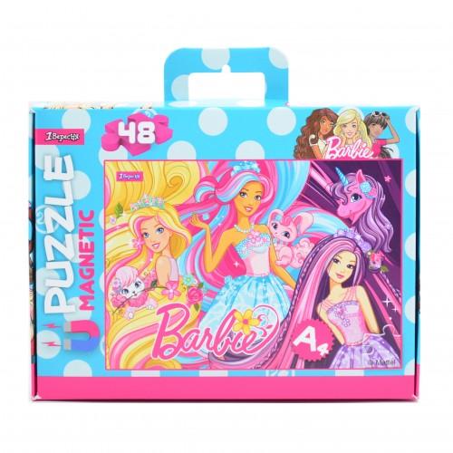 """Пазл магнитный А4 """"Barbie 2"""" 953568"""