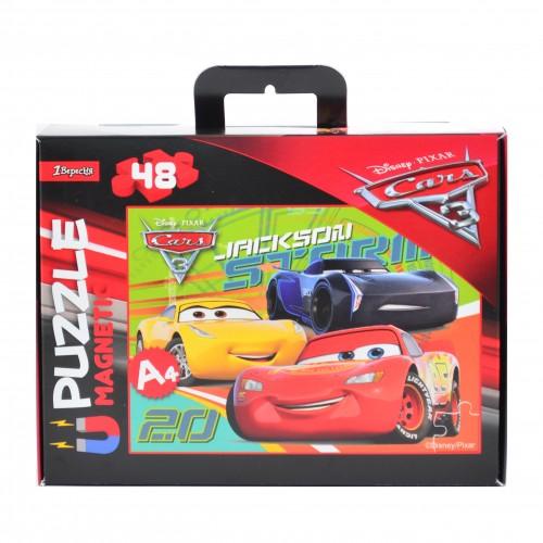 """Пазл магнитный А4 """"Cars 2"""" 953570"""