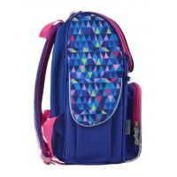 Рюкзак школьный каркасный 1 Вересня H-11 Frozen blue, 33.5*26*13.5