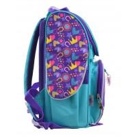 Рюкзак школьный каркасный 1 Вересня H-11 Unicorn, 33.5*26*13.5