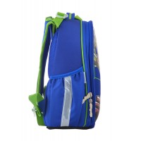 Рюкзак школьный каркасный 1 Вересня H-25 Ninja Turtles, 35*26*16