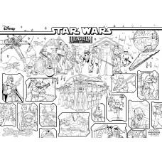 "Раскраска MAXI ""Star Wars"" 640*900 мм."