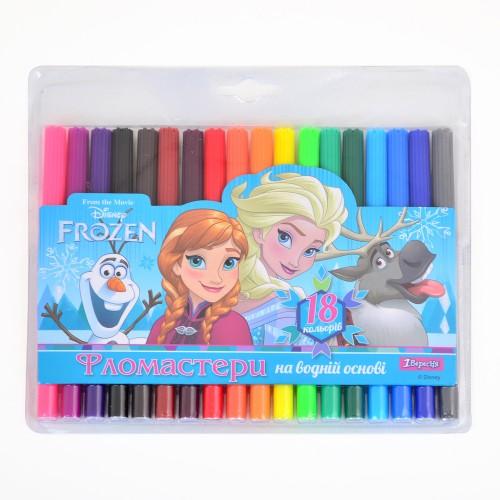 """Фломастеры 18 цв. """"Frozen"""" 650321"""