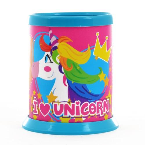 """Стакан для письменных принадлежностей разборной """"Magic unicorn"""" 491493"""