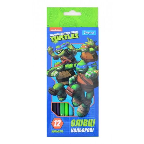 """Карандаши 12 цв. """"Ninja Turtles"""" 290444"""