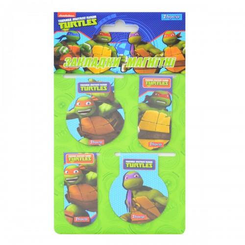 """Закладки магнитные """"Ninja Turtles"""" 706385"""