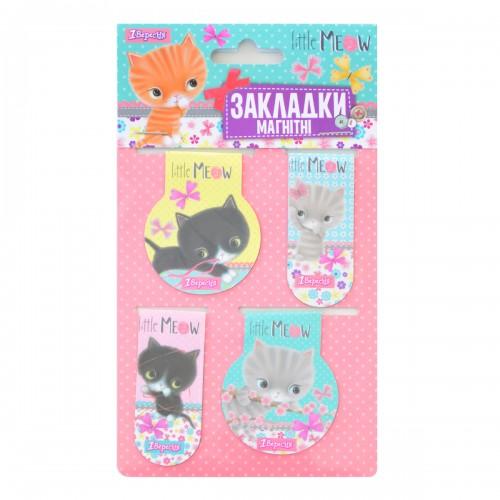 "Закладки магнитные ""Little meow"" 706389"