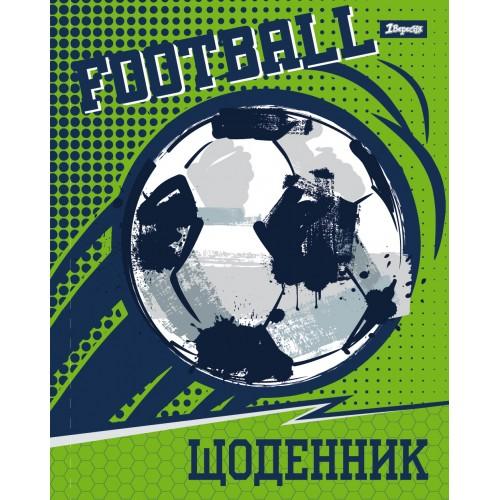 """Дневник школьный жесткий (укр.) """"Football"""" 911016"""