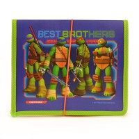 """Папка для тетрадей пласт. на резинке В5 """"Ninja Turtles"""""""