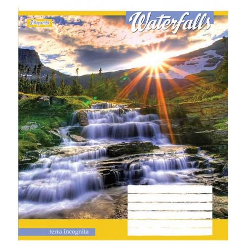 А5/18 кл. 1В Waterfalls-2018, тетрадь ученич. 762335