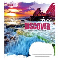 А5/18 лин. 1В Free discover, тетрадь ученич.
