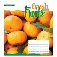 А5/24 кл. 1В Fruits-2018, тетрадь ученич.