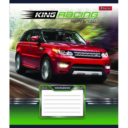 А5/24 кл. 1В King Racing, тетрадь ученич. 762447