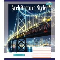 А5/24 лин. 1В Architecture city, тетрадь ученич.