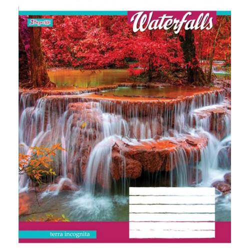А5/18 лин. 1В Waterfalls-2018, тетрадь ученич. 762407