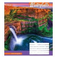А5/18 лин. 1В Waterfalls-2018, тетрадь ученич.
