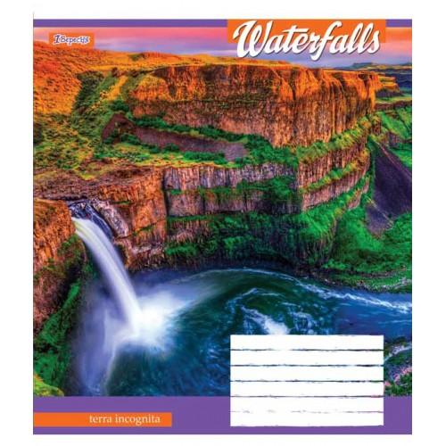 А5/36 кл. 1В Waterfalls-2018, тетрадь ученич. 762580