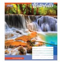 А5/36 лин. 1В Waterfalls-2018, тетрадь ученич.