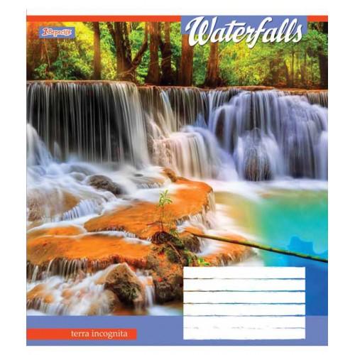 А5/48 лин. 1В Waterfalls-2018, тетрадь ученич 762742
