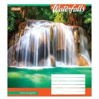А5/48 лин. 1В Waterfalls-2018, тетрадь ученич