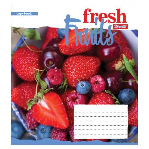 А5/24 лин. 1В Fruits-2018, тетрадь ученич. 762505