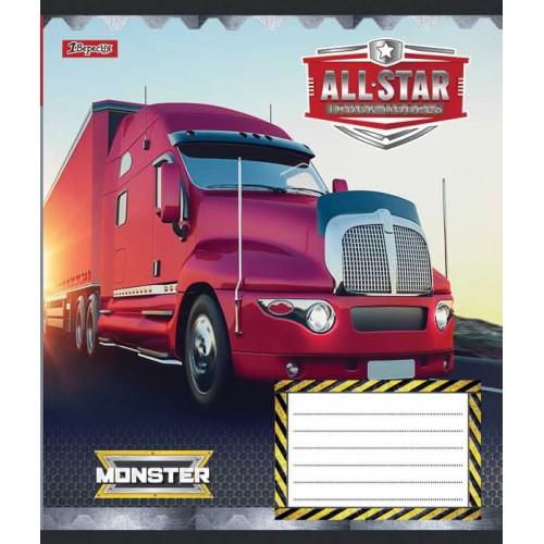 А5/24 лин. 1В Trucks time, тетрадь ученич. 762515
