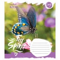 А5/12 кос. 1В Butterfly Spirit, тетрадь ученич.