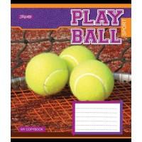 А5/24 лин. 1В Play ball, тетрадь ученич.