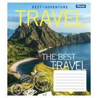 А5/36 лин. 1В Best travel, тетрадь ученич.