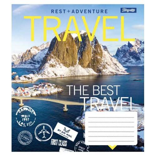 А5/60 лин. 1В Best travel, тетрадь ученич. 762824