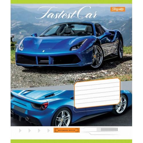 А5/36 кл. 1В Fastest car, тетрадь ученич. 762568
