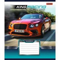 А5/36 кл. 1В King Racing, тетрадь ученич.