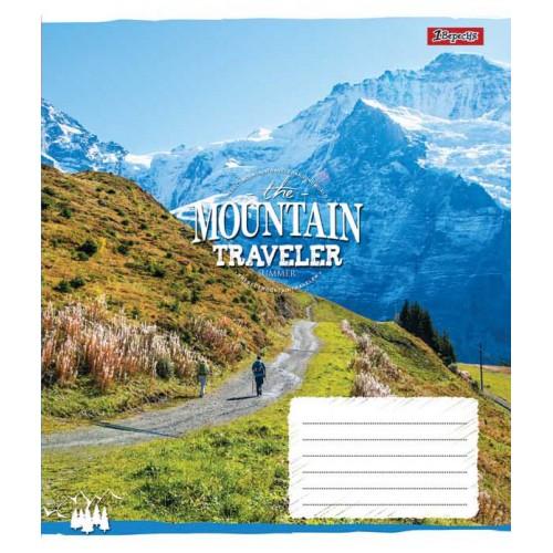 А5/60 кл. 1В Mountain traveler, тетрадь ученич. 762790