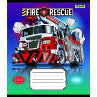 А5/18 кл. 1В Fire rescue, тетрадь ученич.